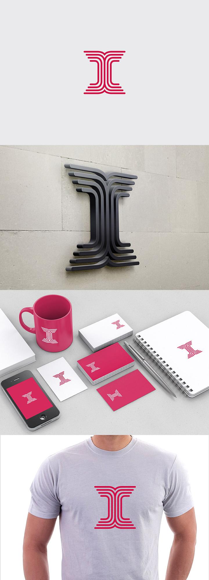 Logo for letter I by samadarag