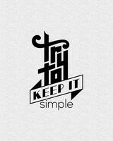 Try to keep it simple by samadarag