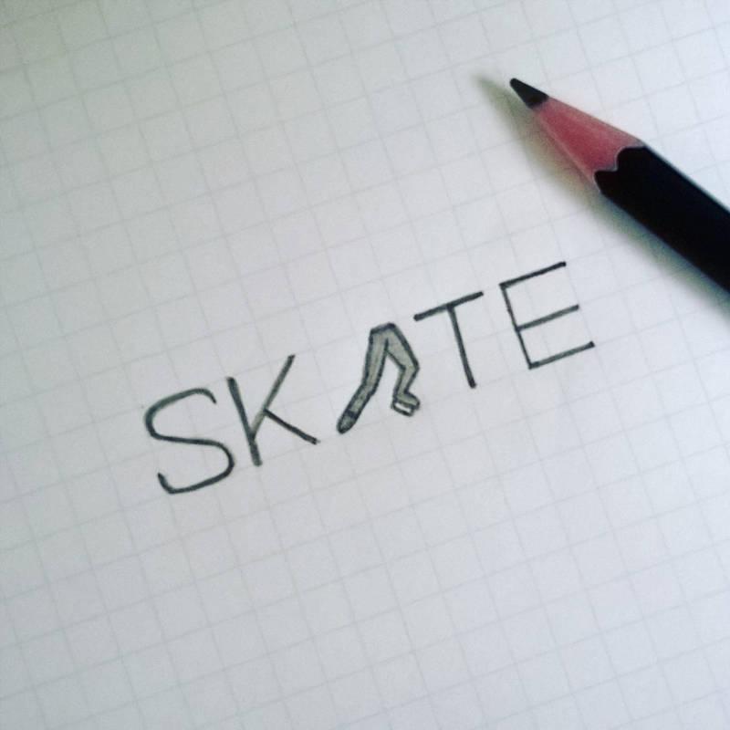 Skate Verbicon by samadarag