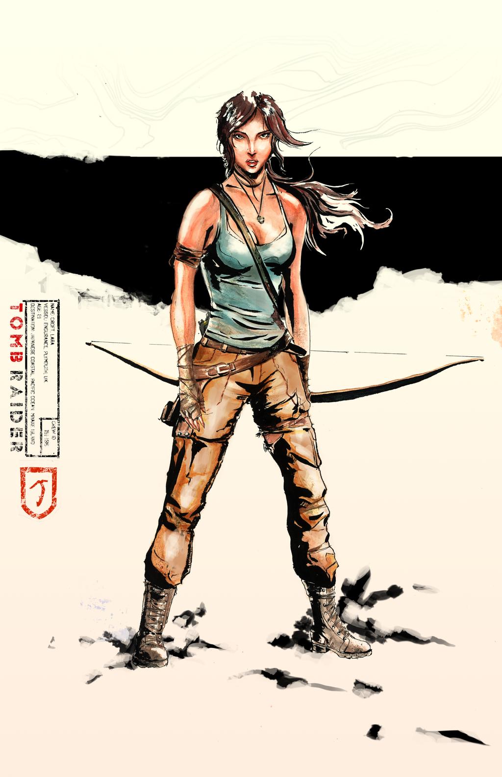 Lara Industrial Ukiyo-E by Rhysarts
