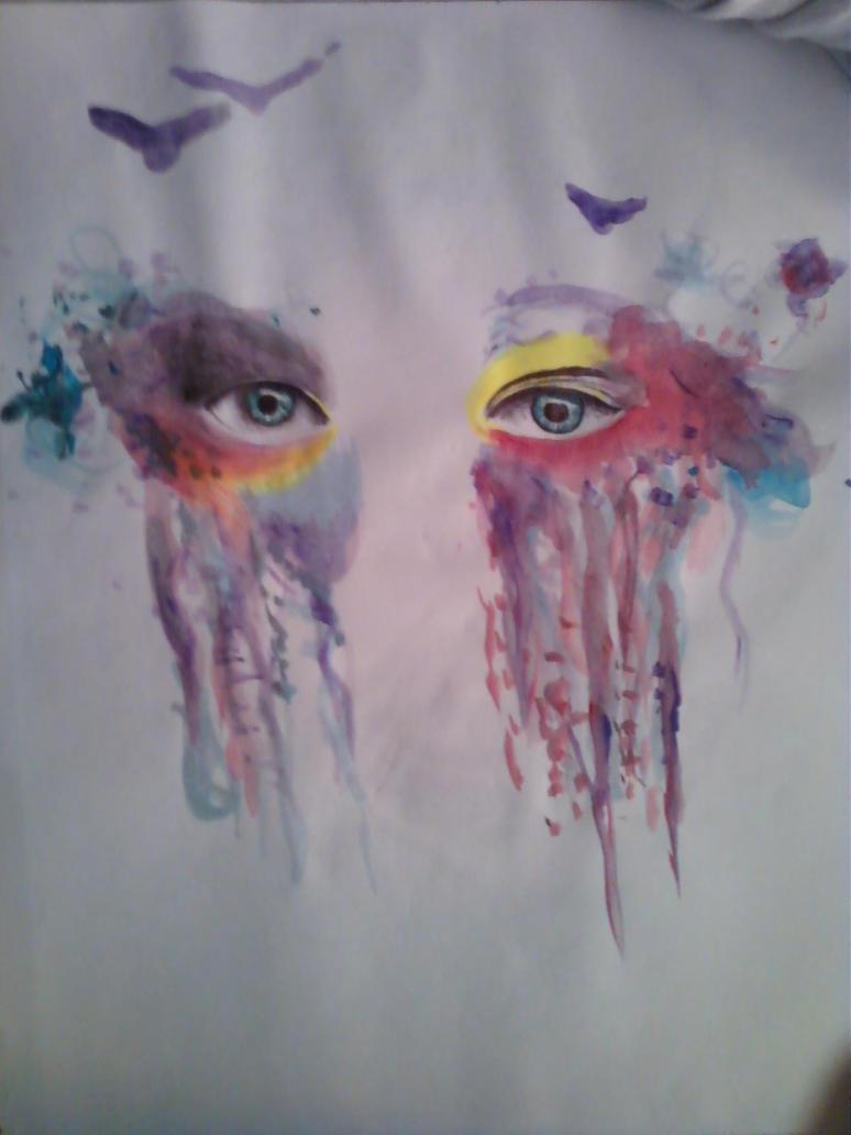 crying rainbows by freerainbowchildren