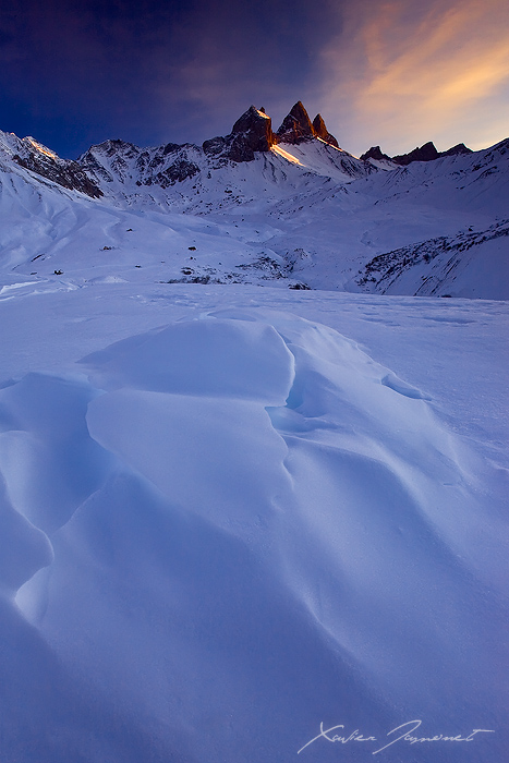 Arves Peaks by XavierJamonet