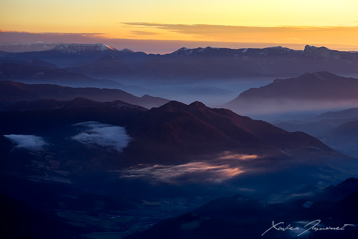 From Vercors to Mount Ventoux by XavierJamonet
