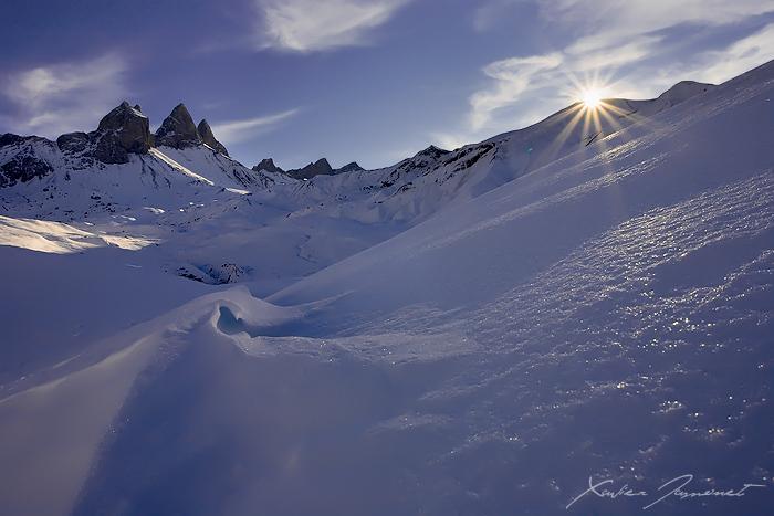 Sunrays by XavierJamonet