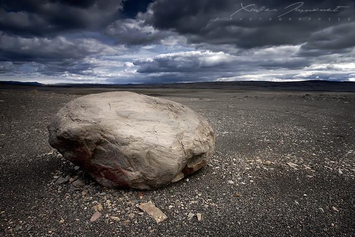 Sprengisandur rock by XavierJamonet