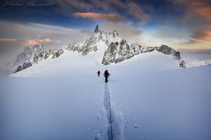 Reaching the Ice Fortress... by XavierJamonet