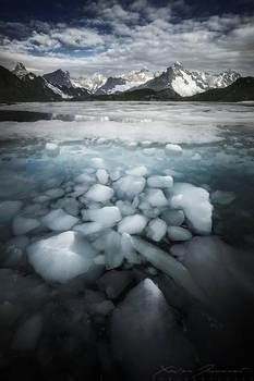 The sunken ice