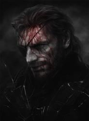 Metal Gear Solid V. The Phantom Pain fan art by Jazefel
