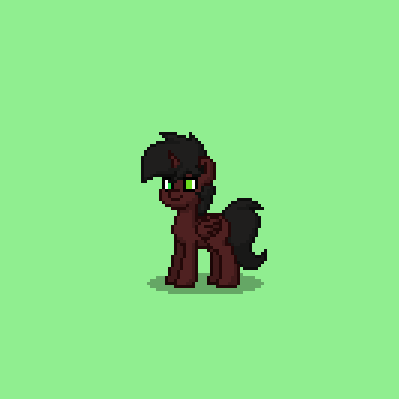Connie in Pony form. by hubworld23