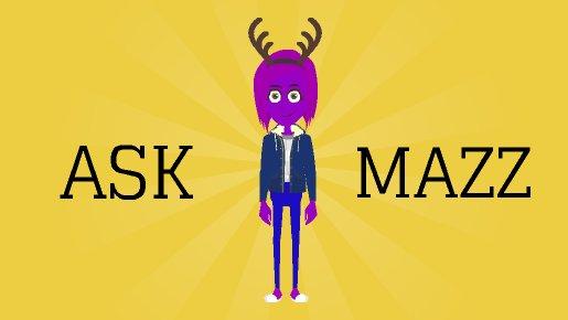 Ask Mazz Logo! by hubworld23