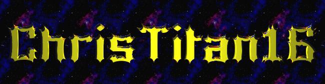 Christitan 16's username Logo! by hubworld23