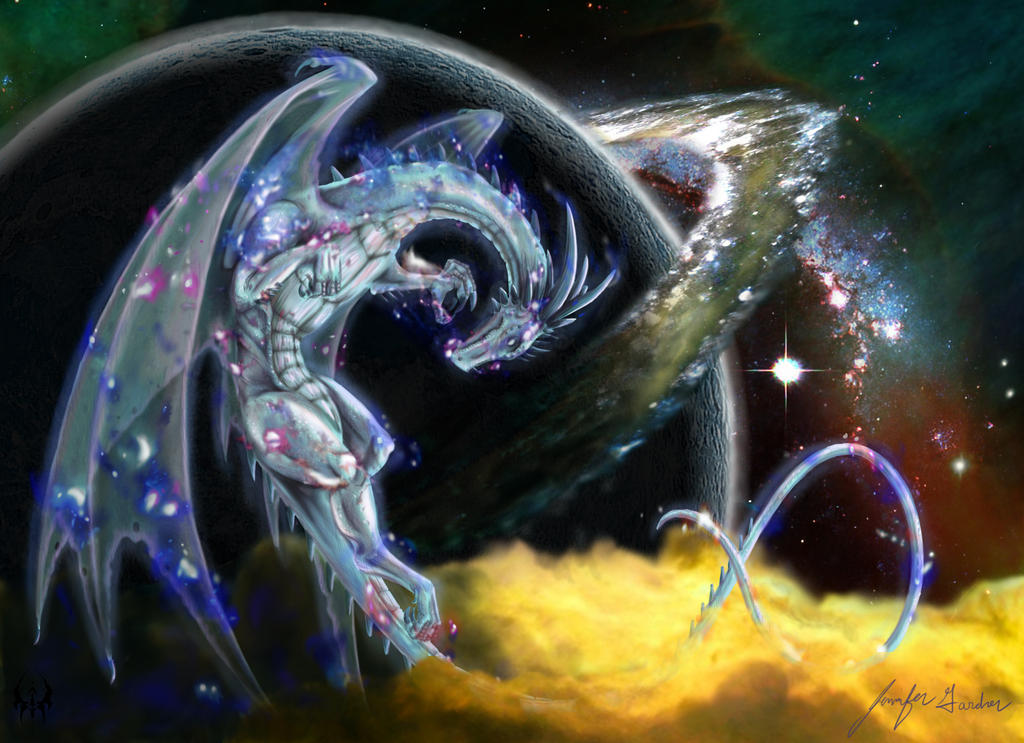 Space Dragon By Rose Of Lynn On Deviantart