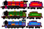My Arlesdale Railway Engine Sprites