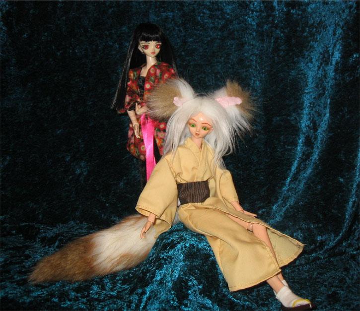 Priestess meets fox demon 3 by prettysewingmachine