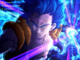 Gogeta Super Saiyan Blue by GabrielPMN1