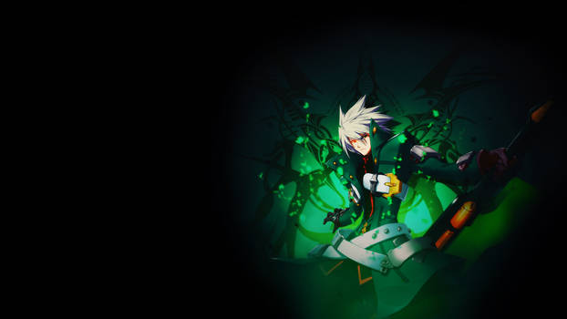 Ragna=The=Bloodedge Wallpaper *GREEN*