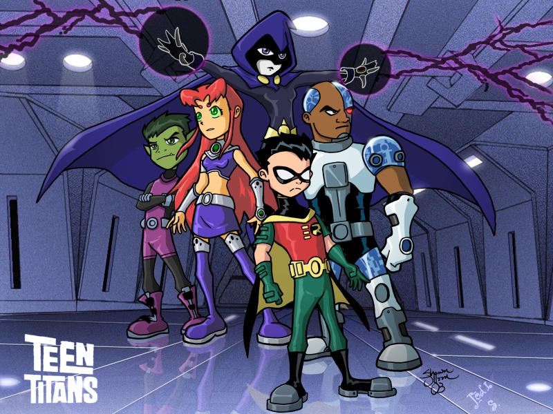 Nightlink's Teen Titans GS by jodi-seer