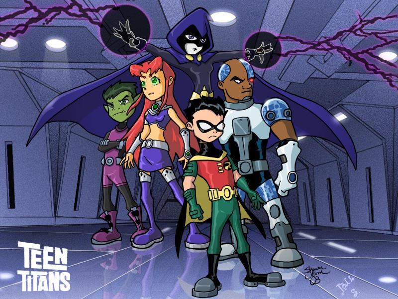 Nightlink's Teen Titans GS by jodi-seer