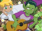 Teen Titans - Guitar Hero