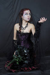 Gothic Woman Pose 2 by deswitath
