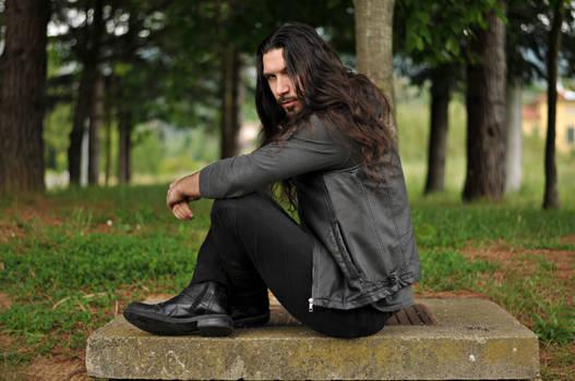 Long hair pose 2