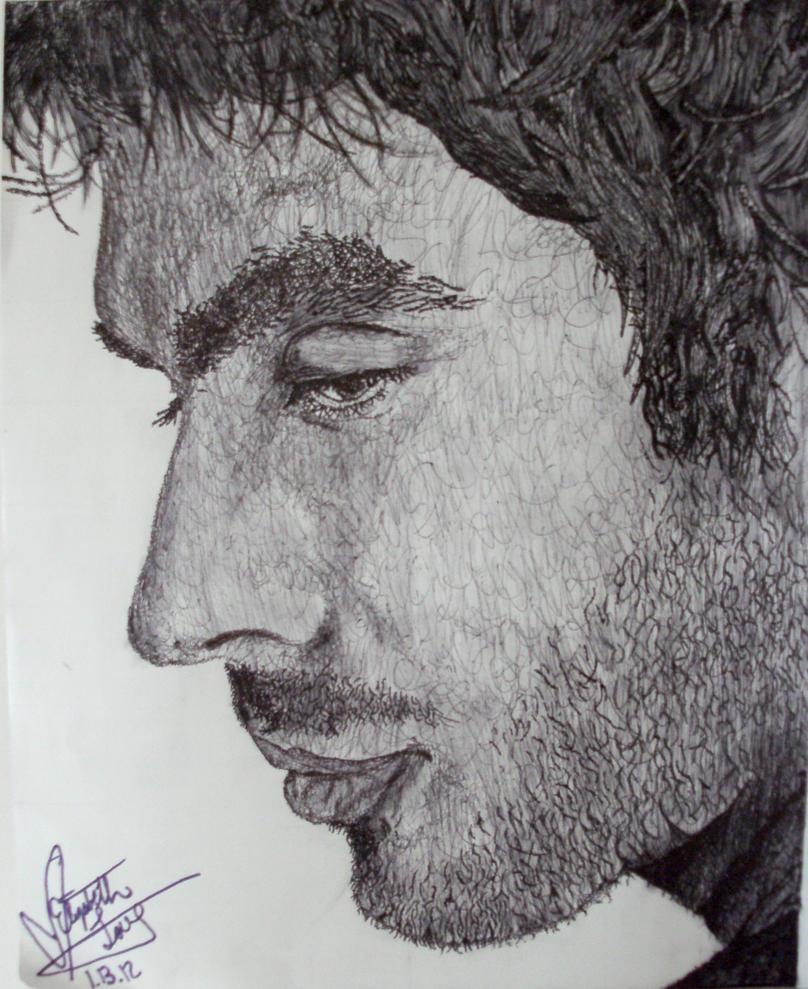 Ian Somerhalder Portrait by MeLLaMa-Kei-Kai