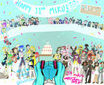 -happy 11th miku!- (WE DREW EVERY VOCALOID EVER)