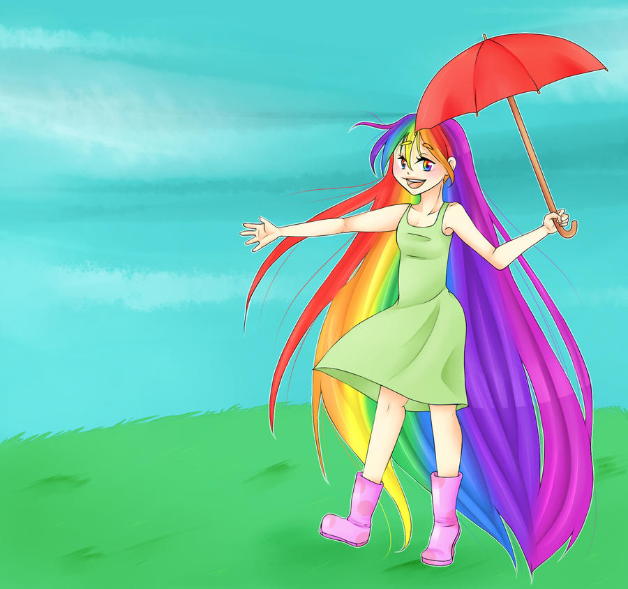 Rainbow Girl 2015 by StupidPanda97