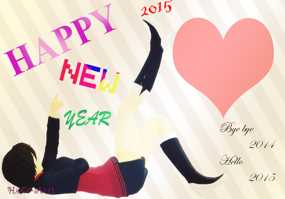 [ID] Now is 2015! by Hime-Art1