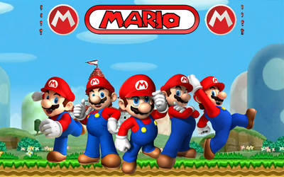 Montage of Mario by I-2