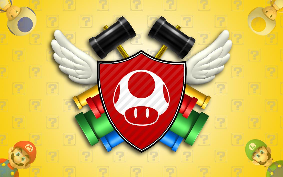 Super Mushroom Emblem by I-2