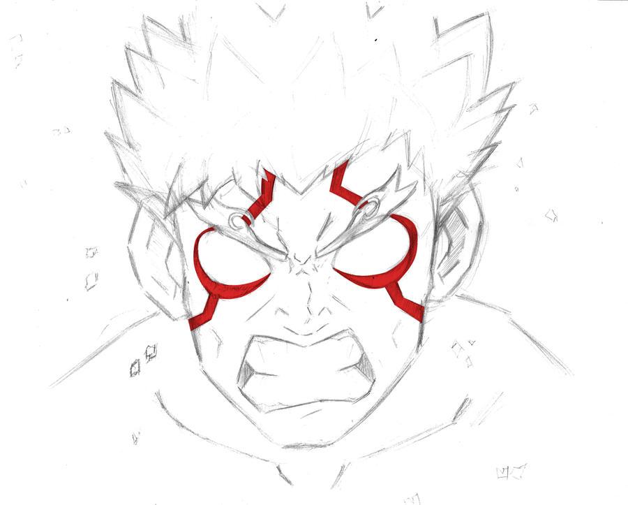Asura sketch by sacana456