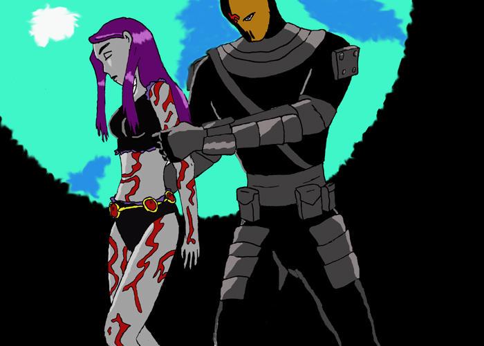 Raven teen titans birthmark