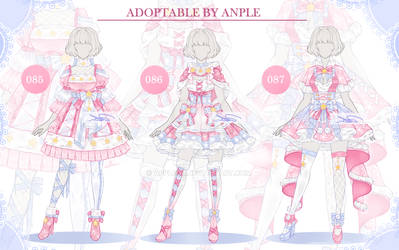 Outfit [CLOSED ] Setprice 085-087 by AppleOR
