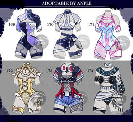 Outfit [CLOSED] SETPRICE 169 - 174 by AnpleOR