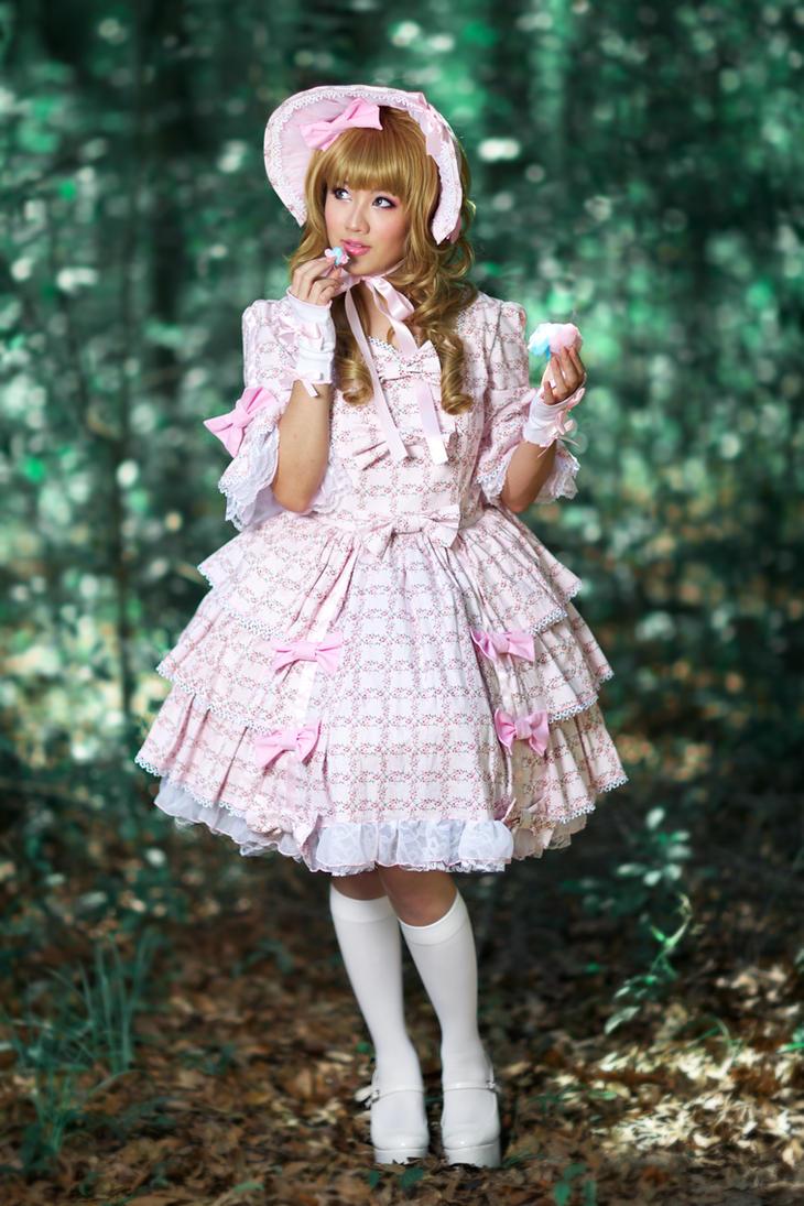 Cute little sweet doll 8