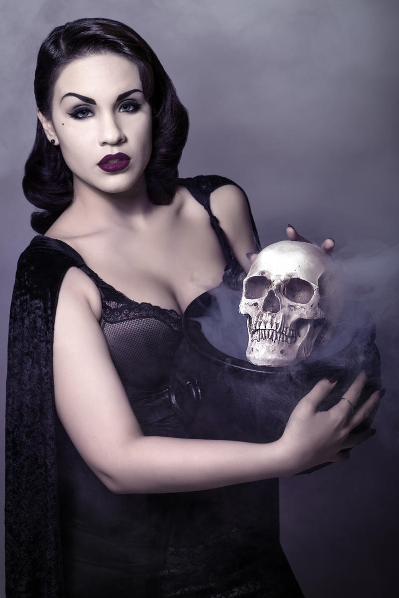 Black Cauldron by Kendra-Paige