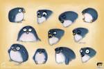 Penguin Facial Expressions