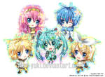 Vocaloid Chibi Set
