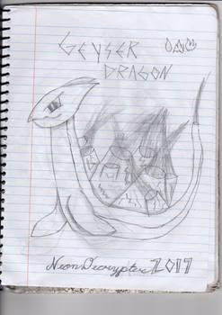 Cringy Art #1: Geyser Dragon