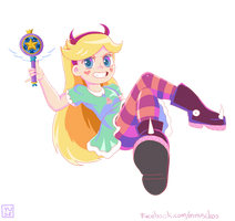 Star Butterfly Star vs the Forces of Evil by MinusClass