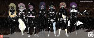 Canterlot High Black Corps by MinusClass