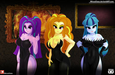 The Dazzlings Night by MinusClass