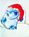 Holiday Glaceon 2 by Cubone4000