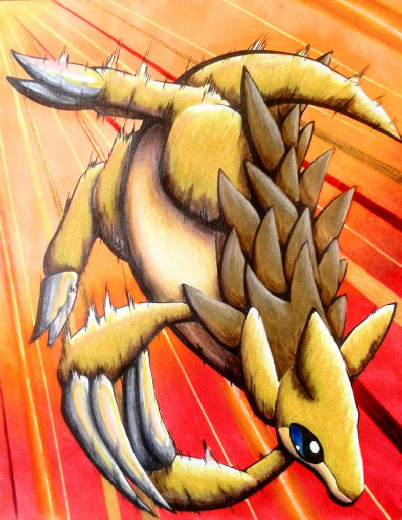 Sandslash by Cubone4000