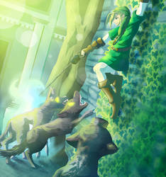 Forest Temple by Cubone4000