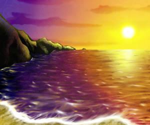 Sunset by Cubone4000