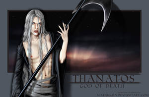 Thanatos God of Death by MaterGaia