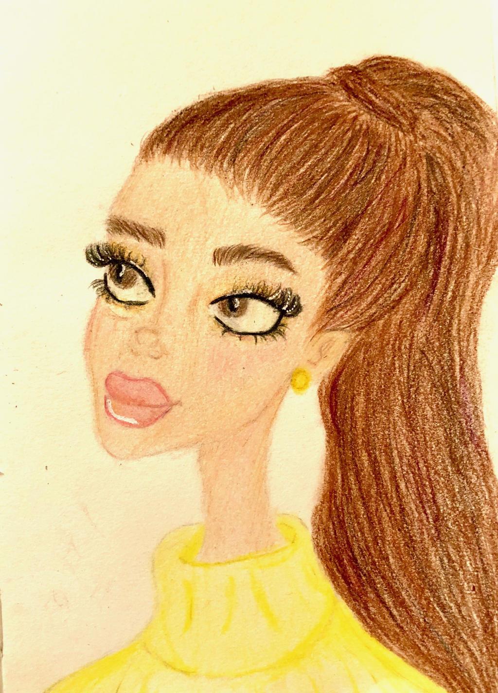 Ariana Grande Cartoon By Masbro7 On Deviantart
