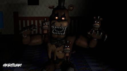 [SFM] Nightmare Freddy and his Freddles by HikariTsubaki25